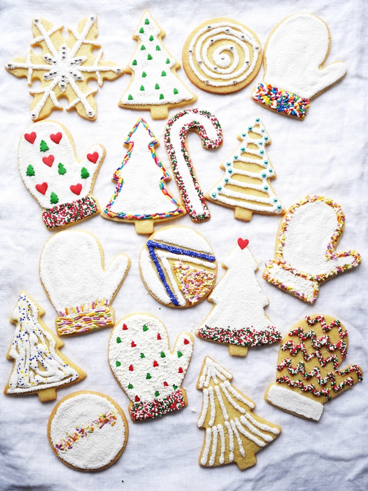 Classic holiday sugar cookie recipe