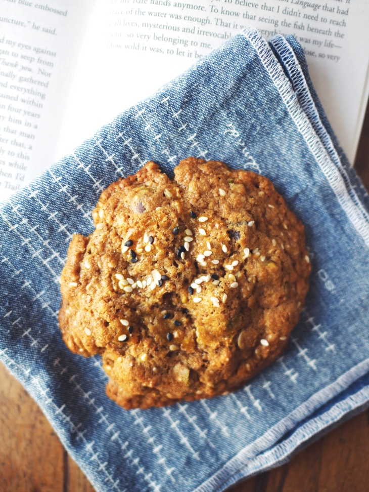 Chunky Whole-Grain Miso Cookies Recipe  on Mostess.co